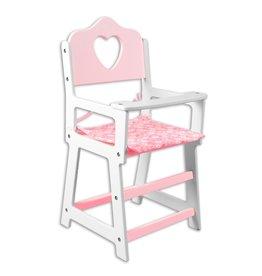 Rosalina Wooden Doll High Chair