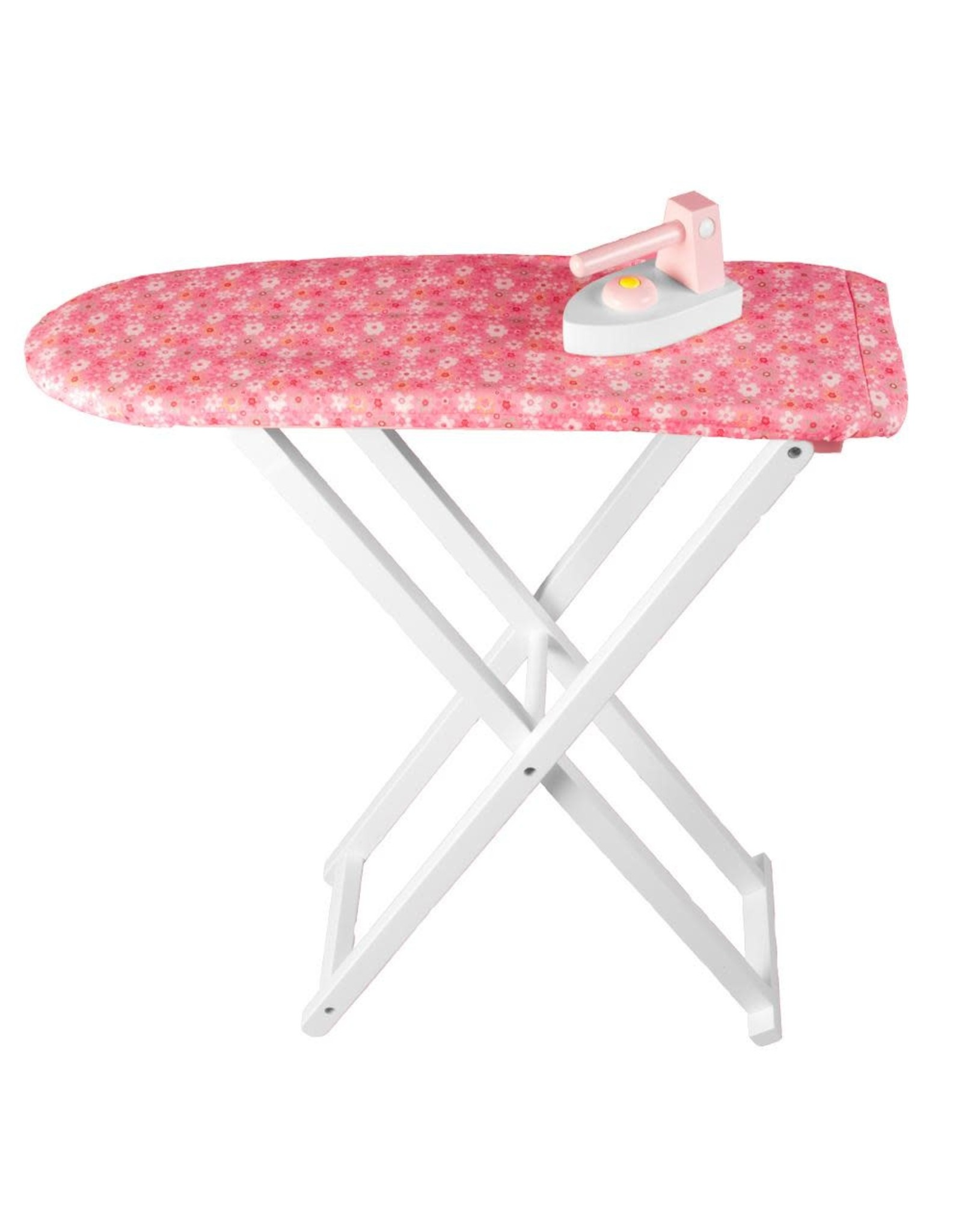 Rosalina Wooden Ironing Board & Iron