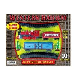 Playmaker Toys Western Railway Play Set