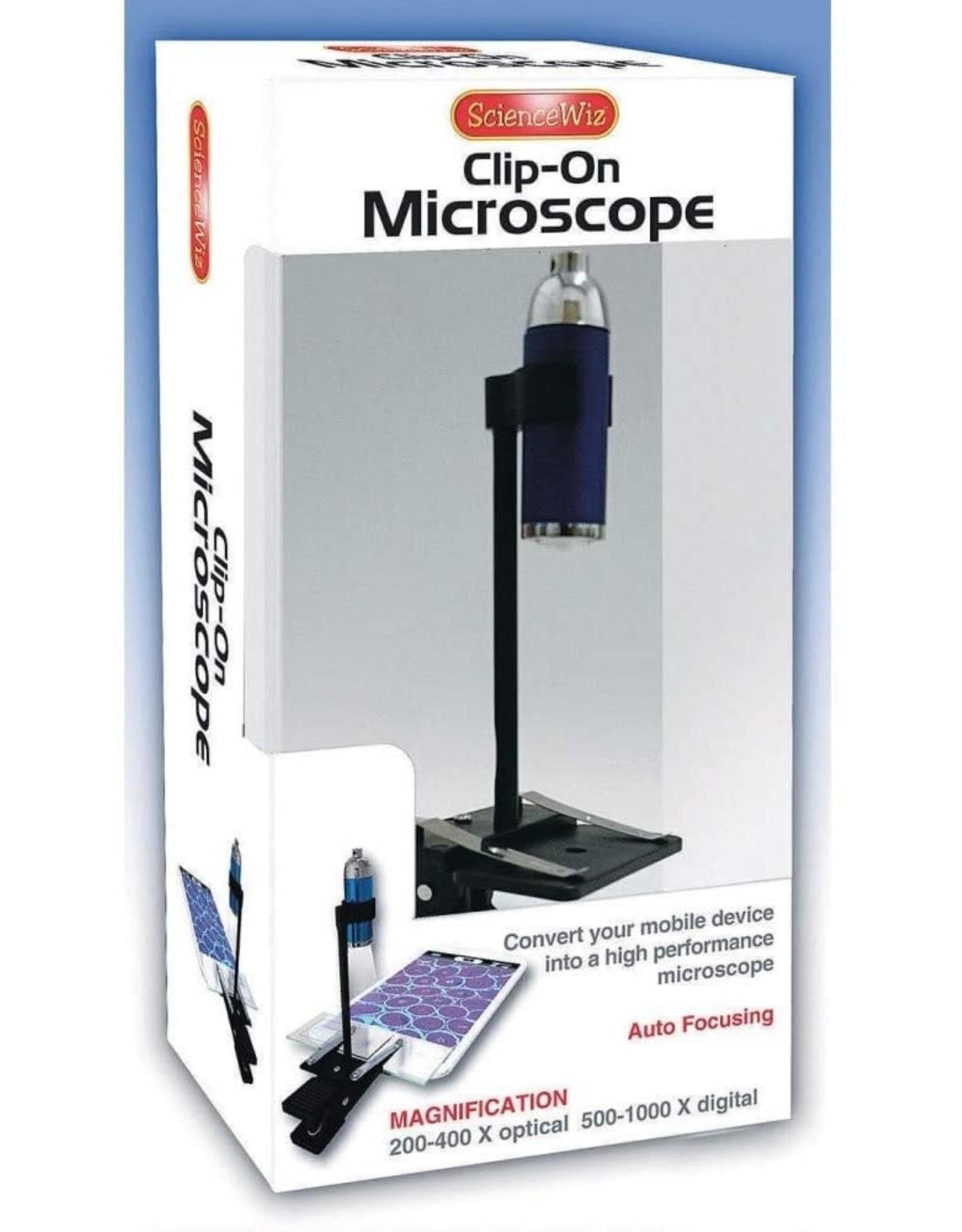 science wiz Single Lens - Clip On Microscope