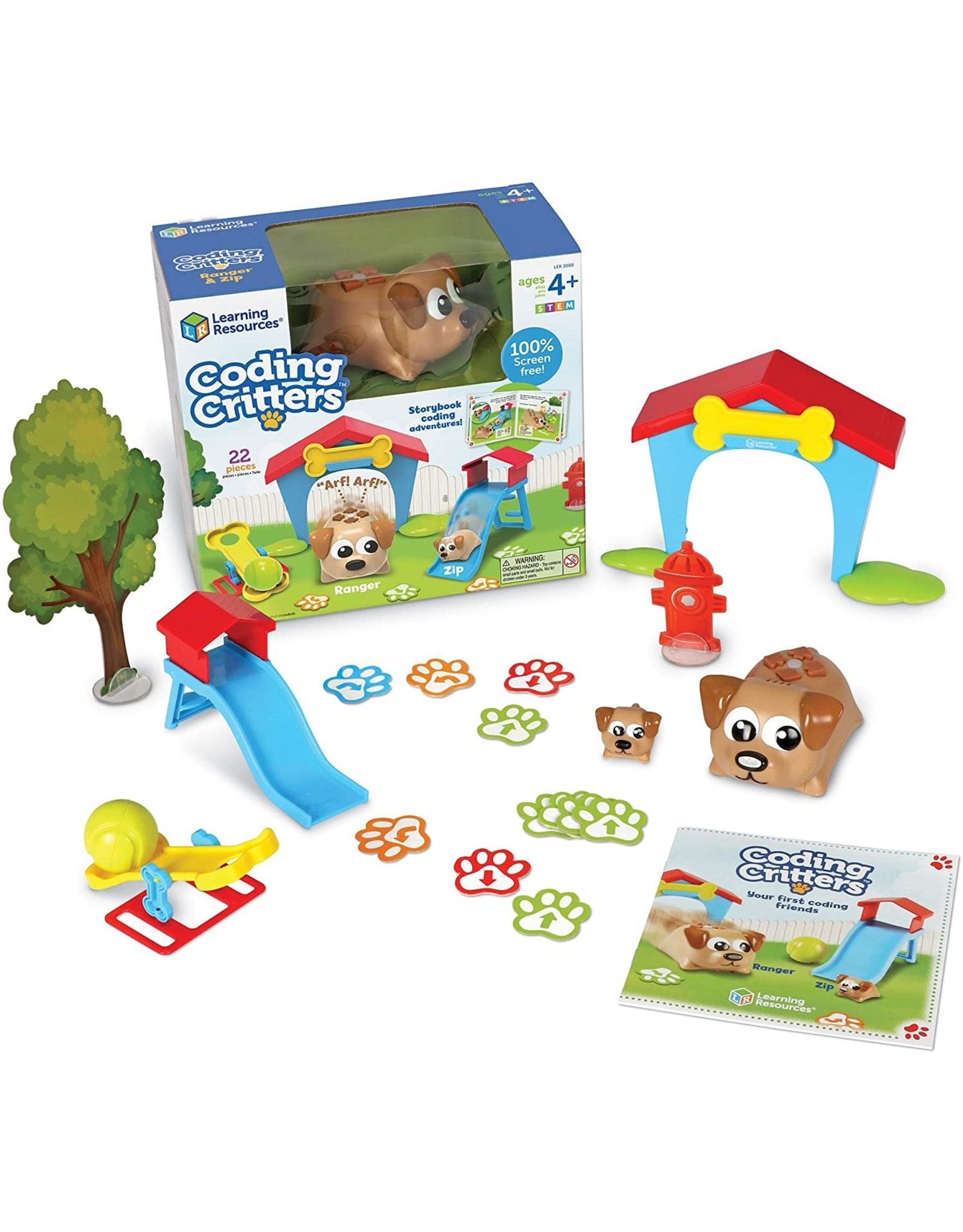 Learning Resources Coding Critters Ranger & Zip