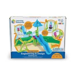 Learning Resources Engineering and Design Building Set Playground