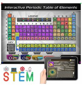Popar Periodic Table of Elements 4D SMART CHART & APP-LARGE