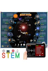 Popar Solar System Interactive Laminated Wall Chart