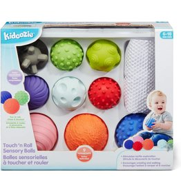 Kidoozie Touch n' Roll Sensory Balls
