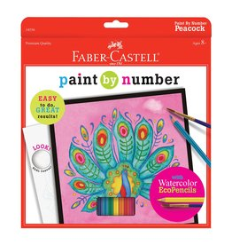 Faber Castell Paint by Number Peacock