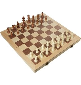 "18"" Deluxe Wood Chess Set"