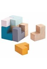 Plan Toys 3D Puzzle Cube Tin