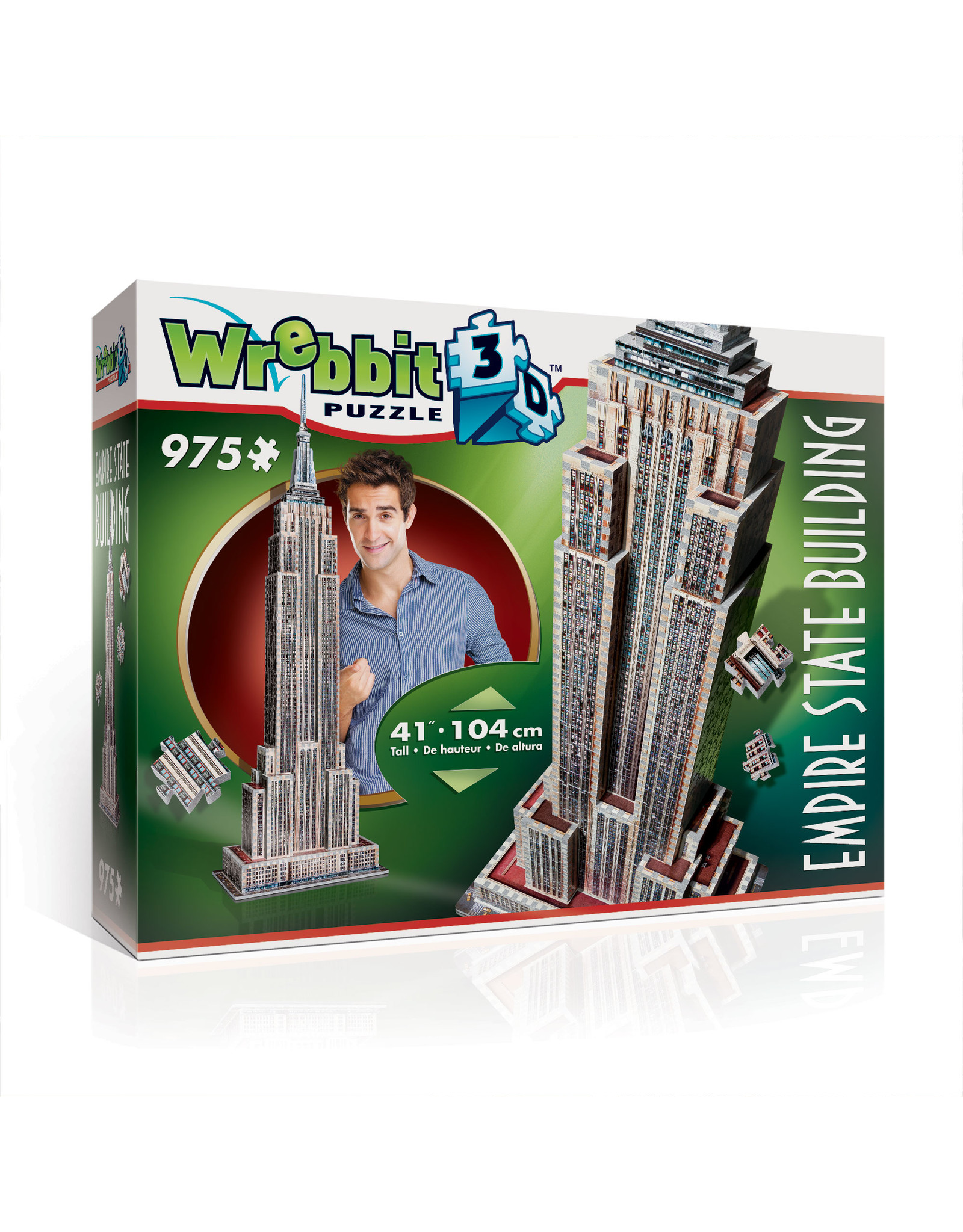 Wrebbit Empire State Buliding 3D Wrebbit Puzzle
