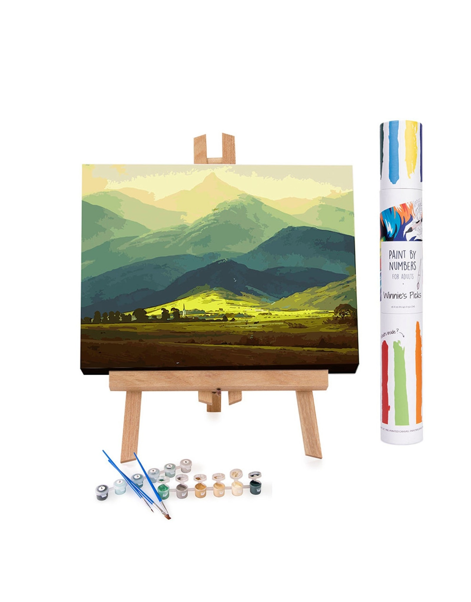Winnie's Picks Paint by Numbers- Scotland Highland's
