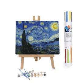 Winnie's Picks Paint by Numbers- Starry Night