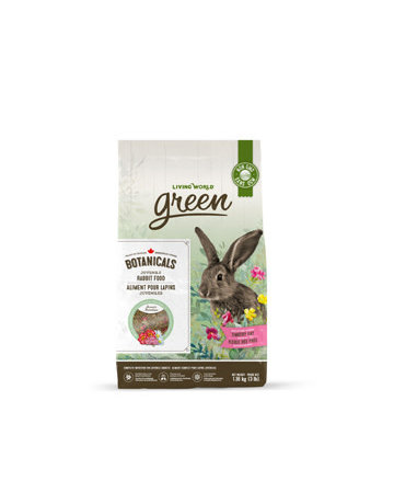 Living World Living world green aliment pour lapins juvéniles 3lb(6)
