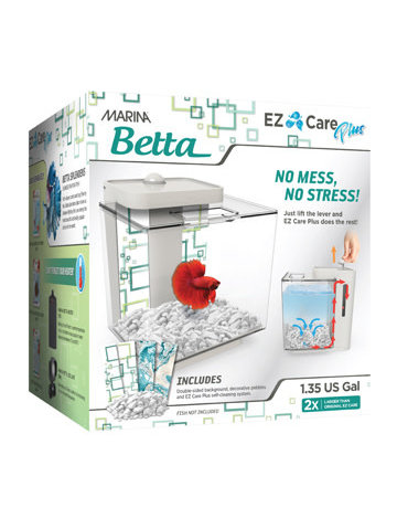 Marina Marina ez care plus aquarium blanc 1.35Gal