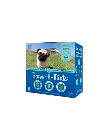 Bone-a-mints Bone-a-mint os dentaire naturel pour chien petit 27.54oz