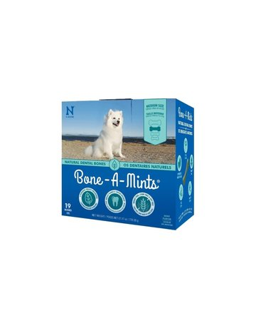 Bone-a-mints Bone-a-mint os dentaire naturel pour chien moyen 27.17oz