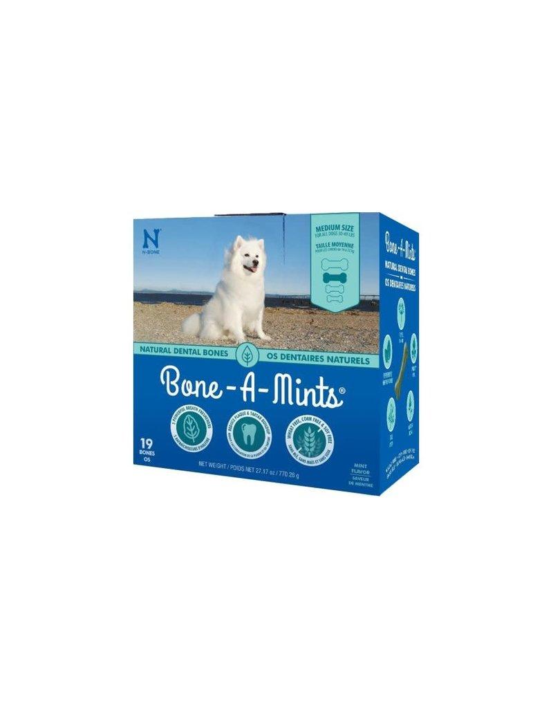 Bone-a-mints Bone-a-mint os dentaire naturel pour chien moyen 27.17oz