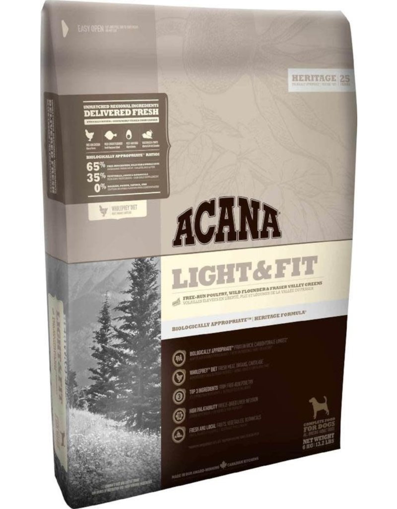 Champion Petfoods Acana chien heritage light & fit