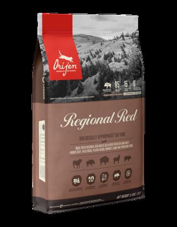 Champion Petfoods Orijen chat regional red