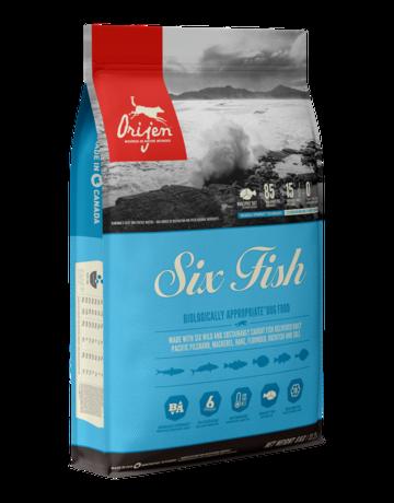 Champion Petfoods Orijen chien six fish