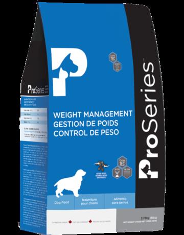 Proseries Proseries chien gestion de poids