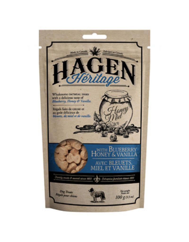 Hagen Hagen héritage arôme de bleuets, miel et vanille 100g (6).
