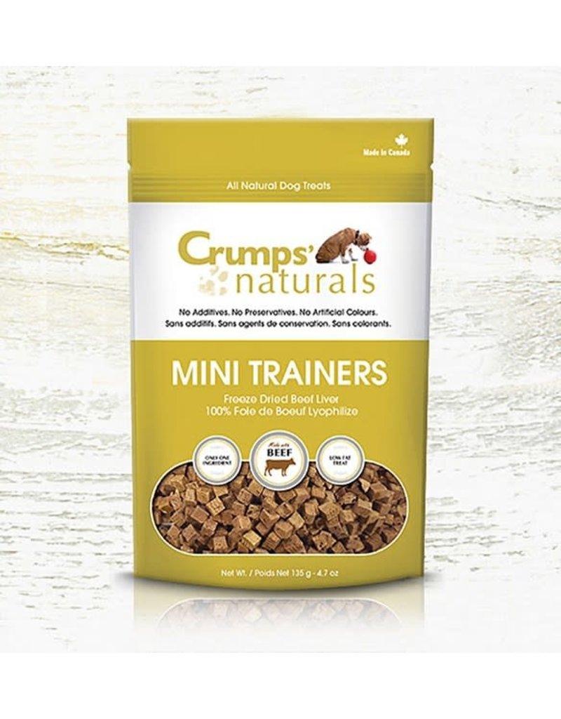 Crumps Crumps'naturals mini trainers foie de boeuf 3.7oz