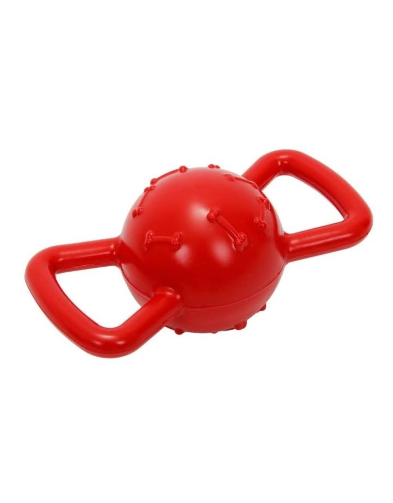 Bud'z Bud'z balle à poignées rouge 3'5''