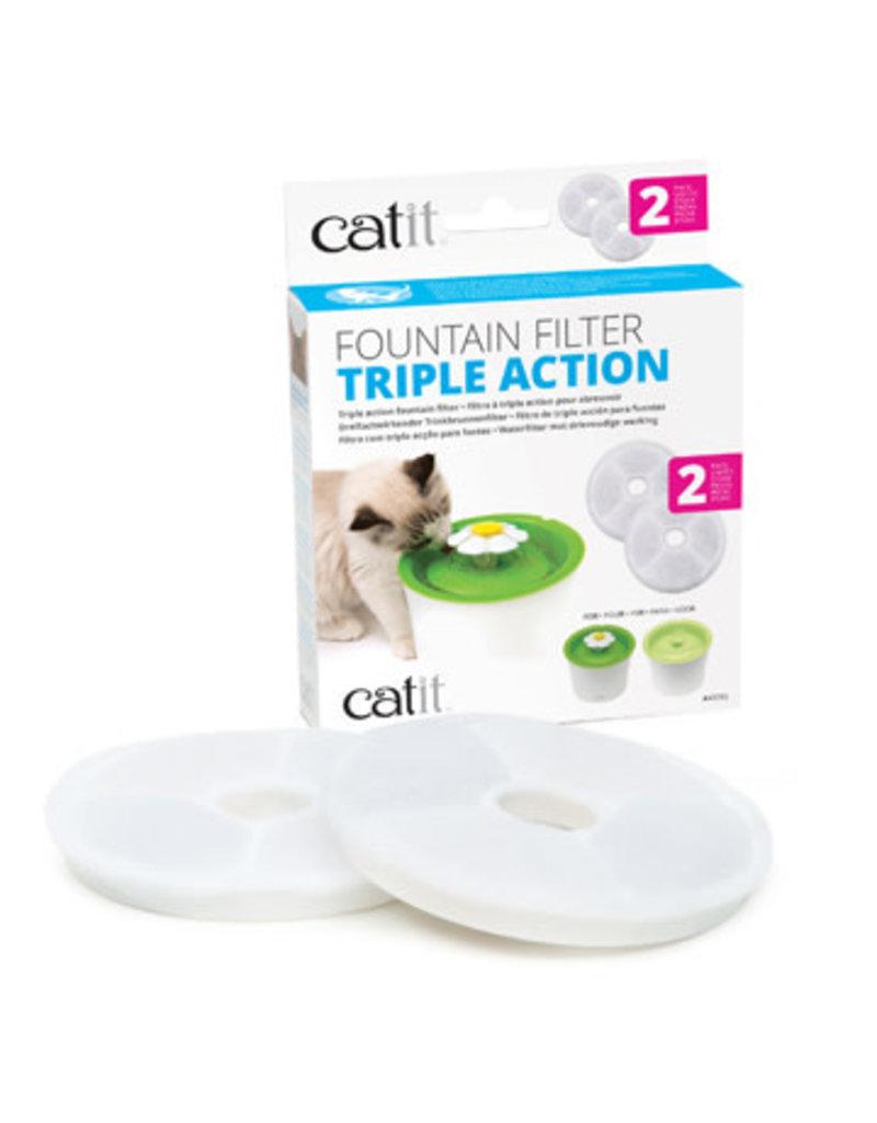 Catit Catit filtre à triple action pour abreuvoir 2 unités