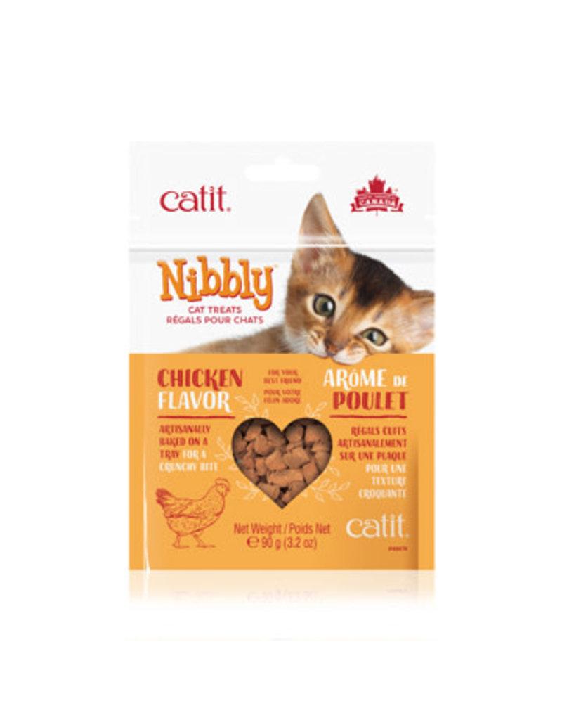 Catit Catit nibbly poulet 90g