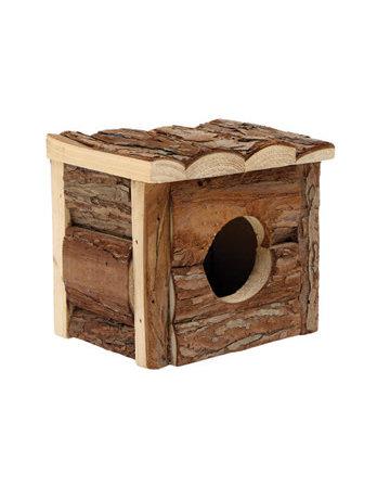 Living World Living World maison de bois naturel