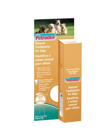 Petrodex Petrodex dentifrice pour chiens arôme d'arachide 70g