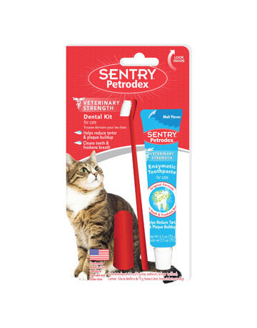 Petrodex Petrodex trousse dentaire pour chat