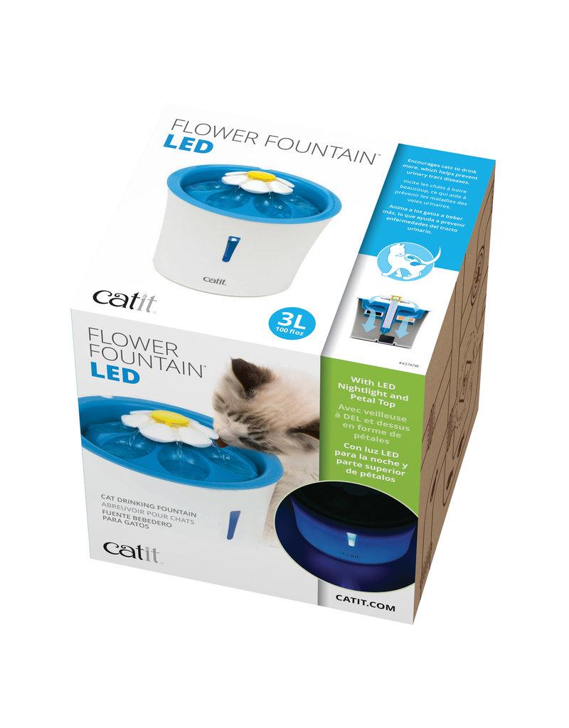 Catit Catit abreuvoir pour chats DEL 3L