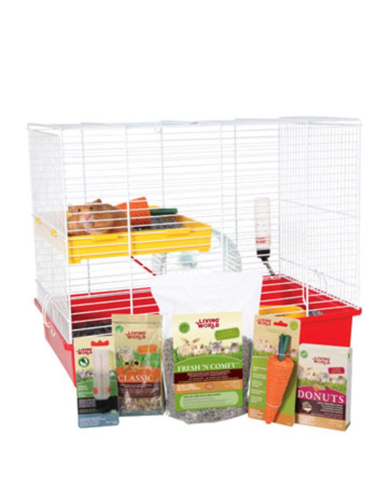 Living World Living world cage équipé pour hamster deux étages