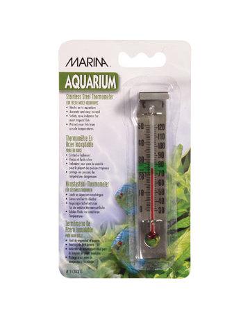 Marina Marina thermomètre en acier inoxydable .