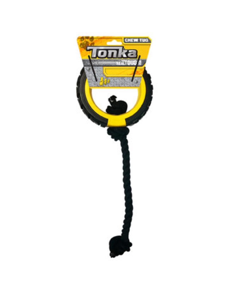 Tonka Tonka chewtug anneau avec corde
