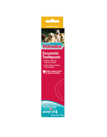 Petrodex Petrodex dentifrice enzymatique pour chien saveur poulet