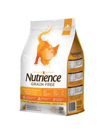 Nutrience Nutrience chat sans grains dinde, poulet et hareng