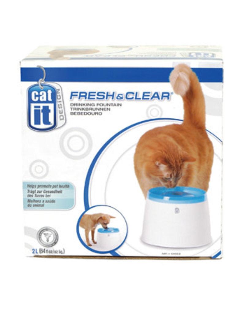 Catit Catit fresh & clear abreuvoir pour chats 2L .