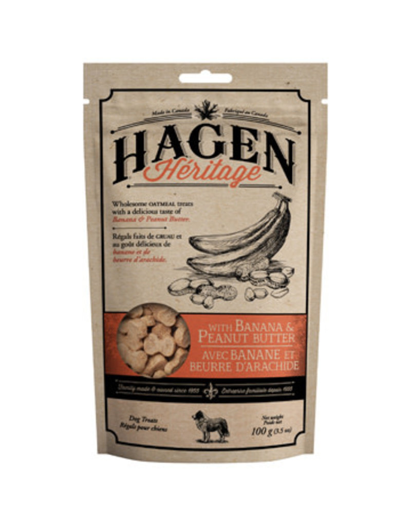 Hagen Hagen héritage arôme de beurre d'arachide et banane 100g (6)