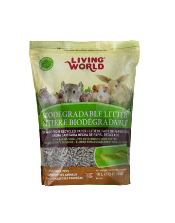 Living World Living World litière de papier recyclé 10l