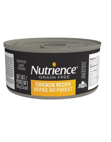 Nutrience Nutrience subzero sans grain repas au poulet 3oz (24)
