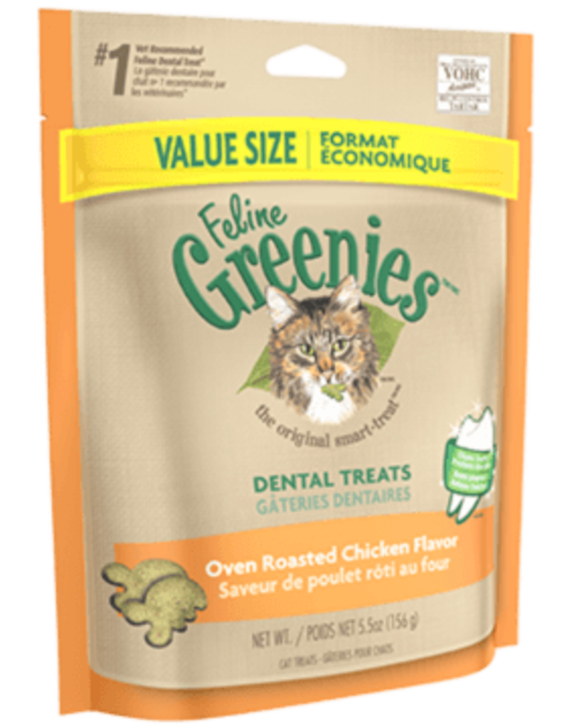Greenies Greenies chat gâteries dentaires saveur poulet