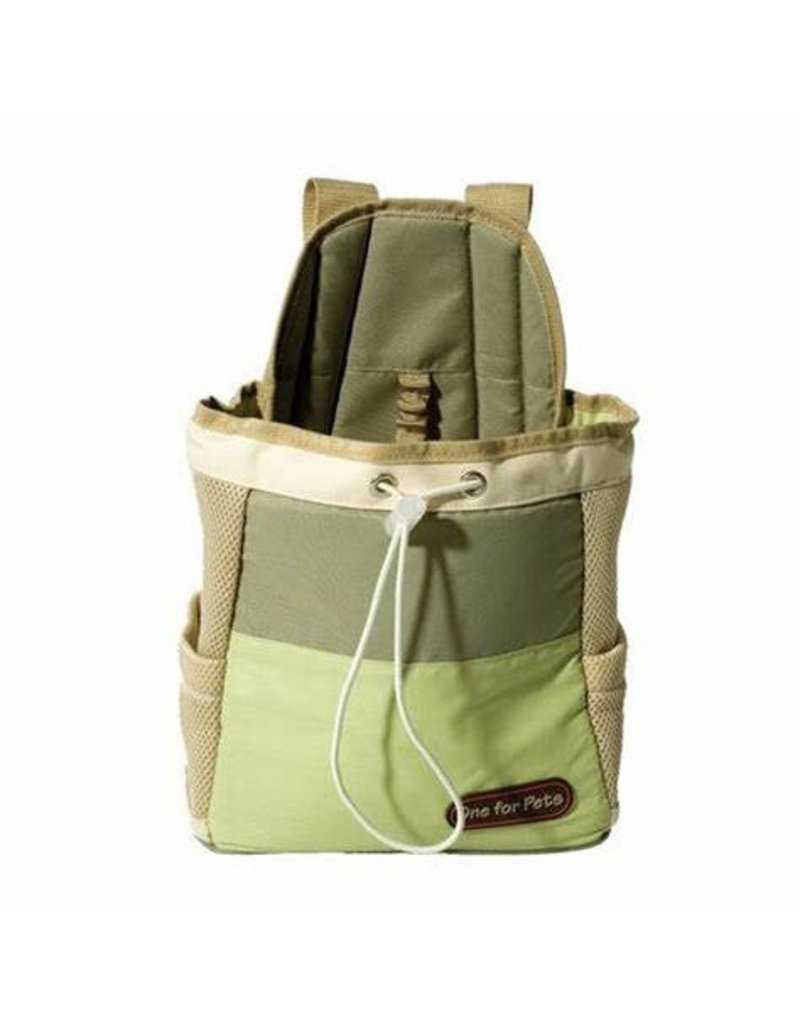 one for pets One for pets sac de transport vert
