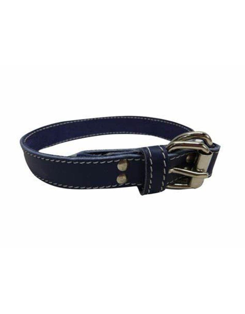 arizona Arizona collier bleu en cuir 18''