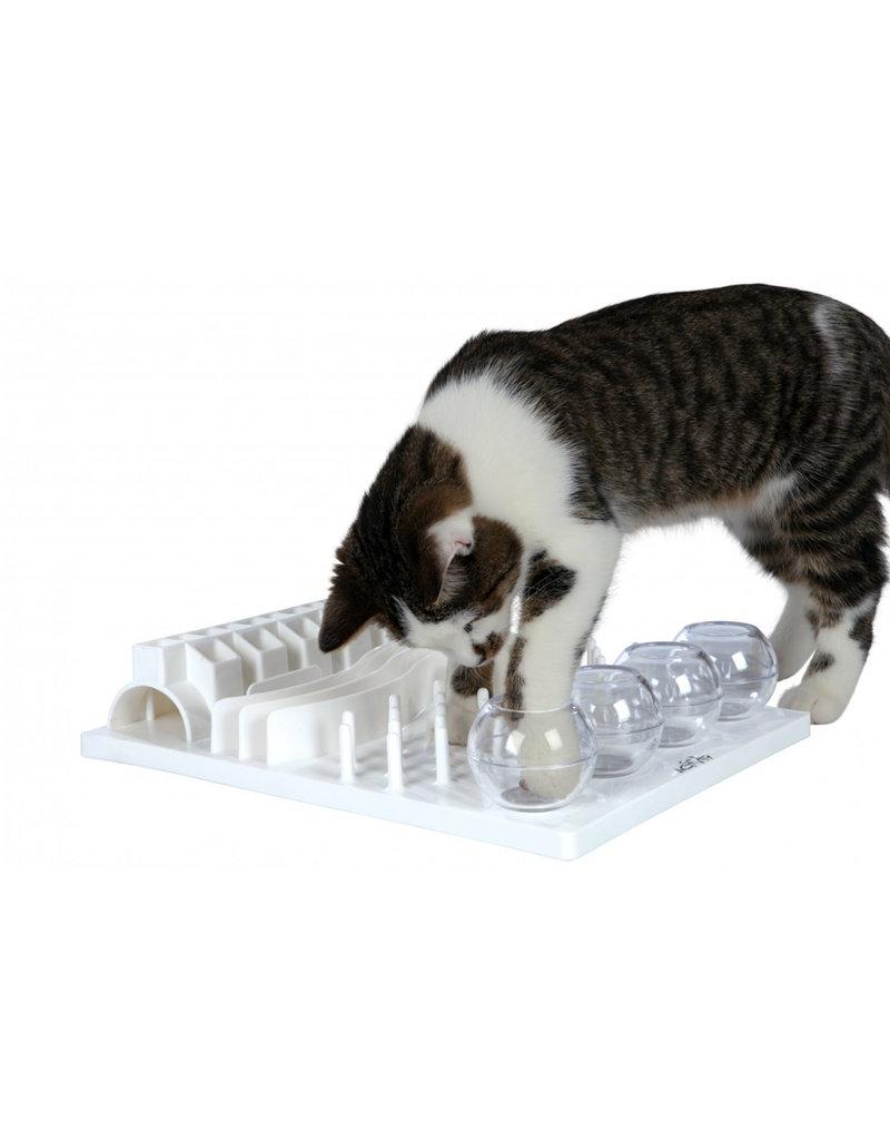 Trixie Trixie tableau jeux de stratégie blanc pour chat