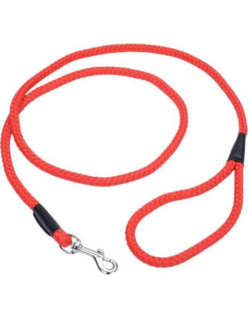 Coastal Coastal laisse en corde rouge 6'