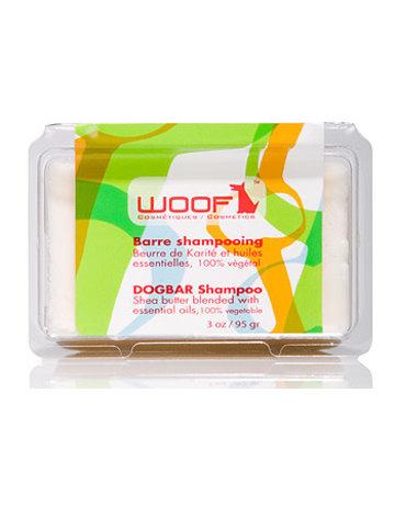 Woof Woof shampooing en barre beurre de karité et huiles essentielles 3oz .