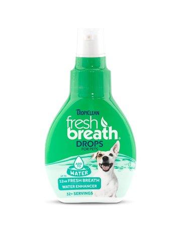 Tropiclean Tropiclean fresh breath gouttes fraîcheur 65ml
