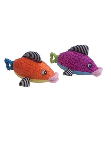 Spot Spot plush nubbing  poisson coloré (3) .